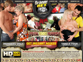 Welcome to GrannyBet, home for the filthiest granny contest!
