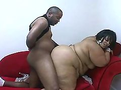 Horny plump vixen loves big peckers