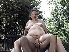Horny Preggo Riding a Cock