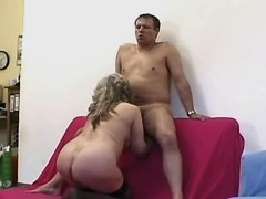 Elder mature sucks cock n has fuck