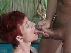 Mom catch cum after sex in all ways