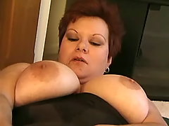 Honey fatty fucks and gets mouthful