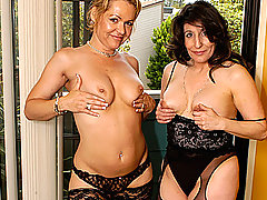 Kelly Leigh and Sancha Eat Each Others' Twats