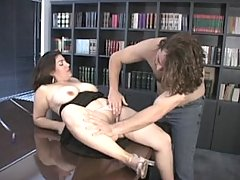 Boning the boss in the boardroom